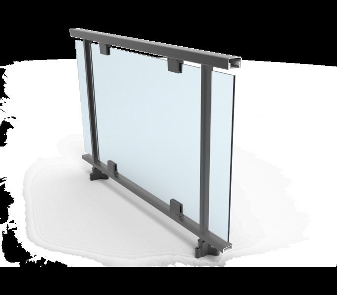 Barandillas vidrio barandillas de vidrio laminado parte for Barandillas exterior baratas